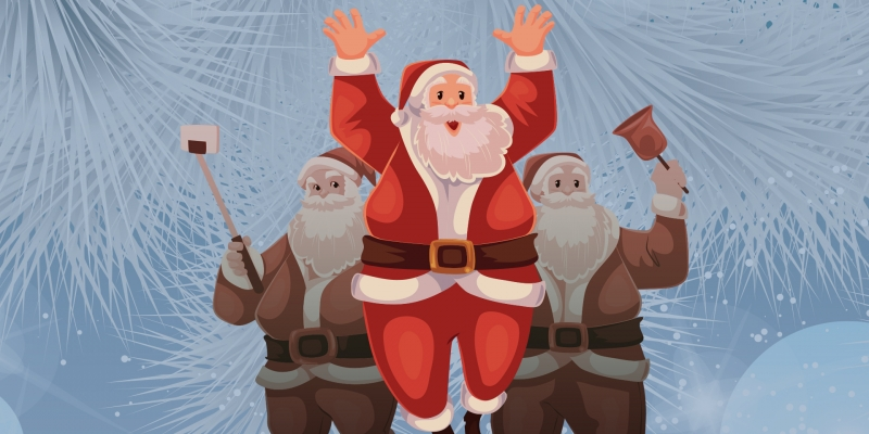 Thistle Cottage Holiday Events: Jubilee of Trees and Pictures with Santa